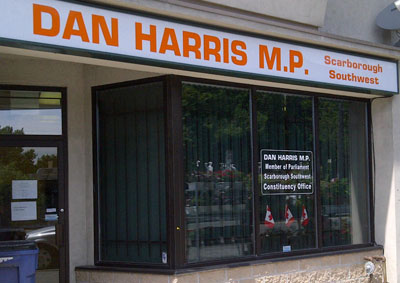 Dan Harris Constituency Office